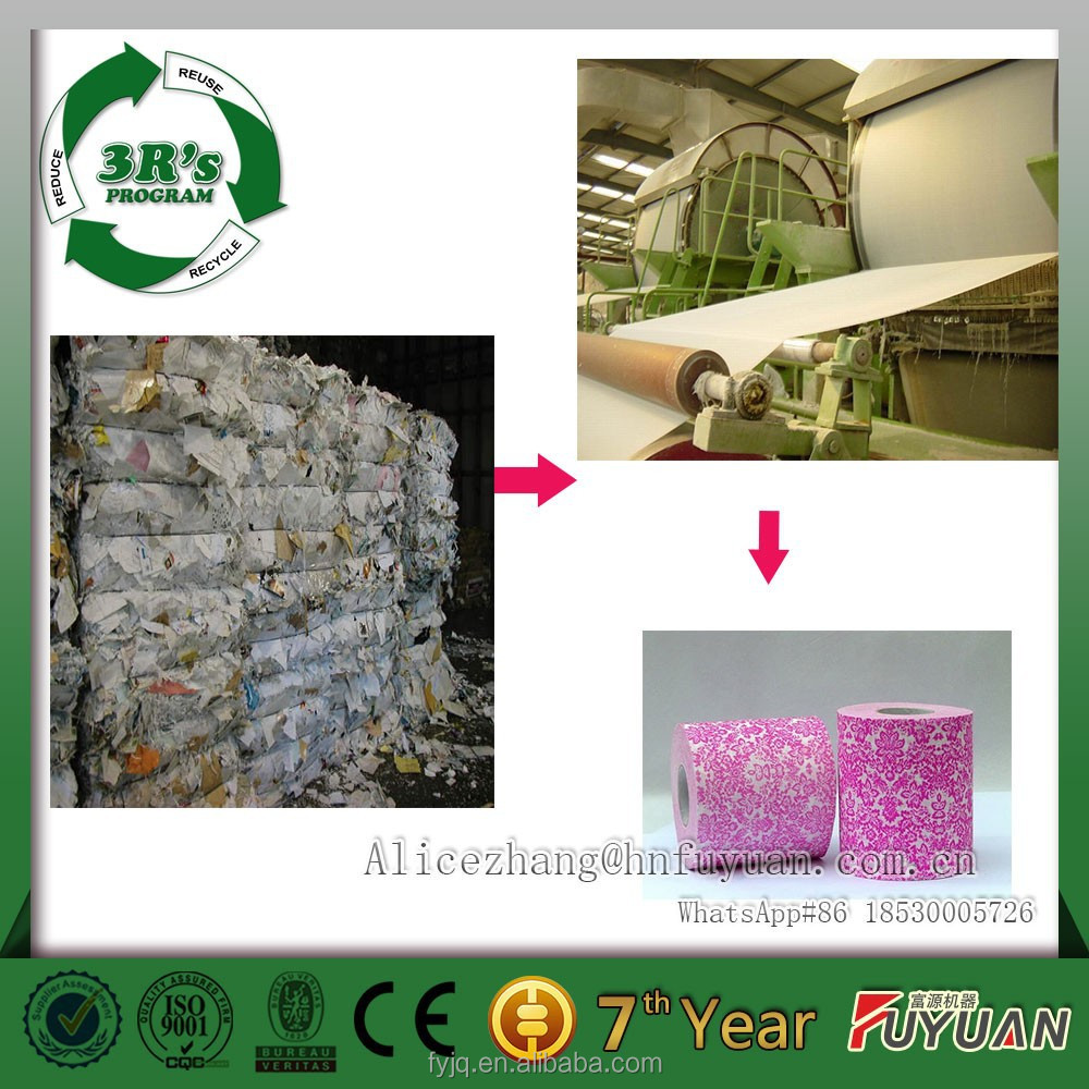 reuse, recycling, reduce, waste recovered waste paper making machine, culture paper, white paper making mill