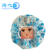Fancy Large Waterproof Plastic Shower Cap For Men