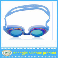 2015 hot selling diving products Waterproof funny swimming goggles for myopia