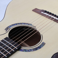 top selling patent design acoustic solid cutaway 41 inch guitar AAA spruce body material mahogany back natural color