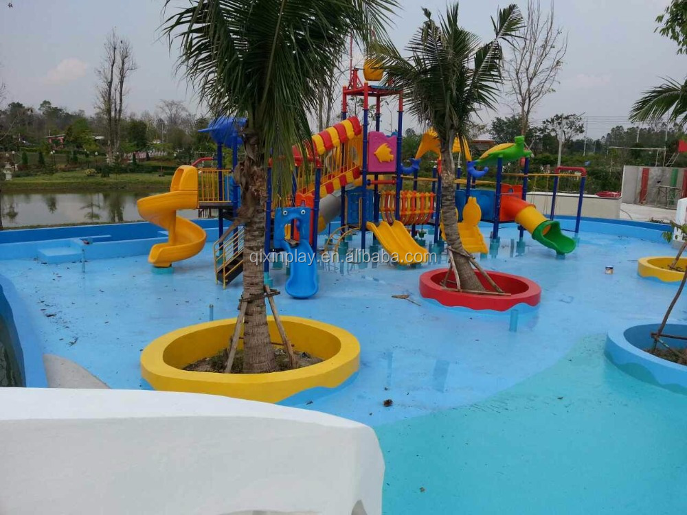 China children water slide for water park plastic water for Gardens pool supply