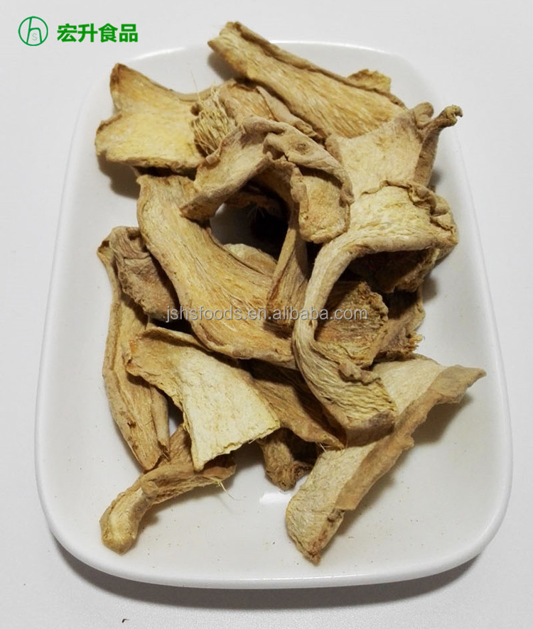Ad Dried Processed Dehydrated Ginger Slice/ Flakes