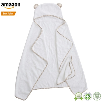 2017 best selling hooded bath towels for toddlers newborns with high quality