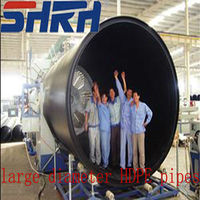 BEST PRICE large dimension hdpe pipe 800mm
