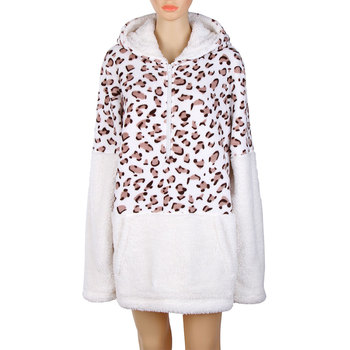 Newest Design Fashion Comfortable Leopard Hoodie