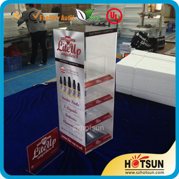Acrylic E-liquid Display E Cigarette Rack/pmma E Juice Display ...