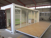 Security guard booth/ container hotel room/clean room booth for community ,hotel ,office with CE approved for sale