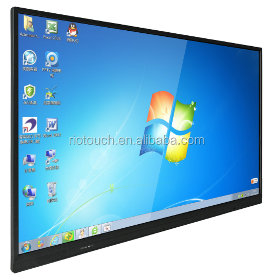 Factory price, Riotouch 75 inch all in one pc tv monitor for sale