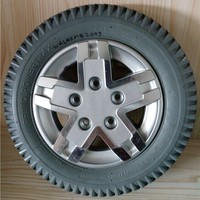 Various PU Foam Rubber Wheel With Aluminum Rim