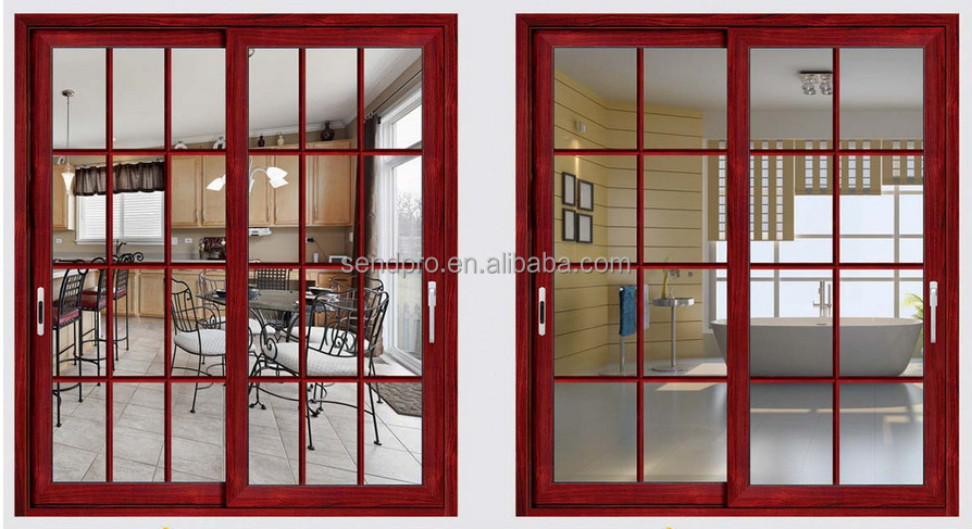 Aluminium thermal break doors grill design modern house lift doors & Aluminium Thermal Break Doors Grill Design Modern House Lift Doors ... pezcame.com