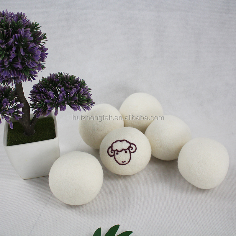घरेलू त्वरित सूखी महसूस किया ऊन ड्रायर गेंदों के लिए कपड़े धोने की मशीन