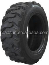 China high quality bobcat skid steer tyres 27x8.5-15 solid with wheels and rims for 500 series