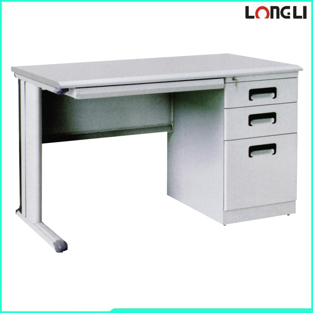 steel frame office computer desk standard office desk
