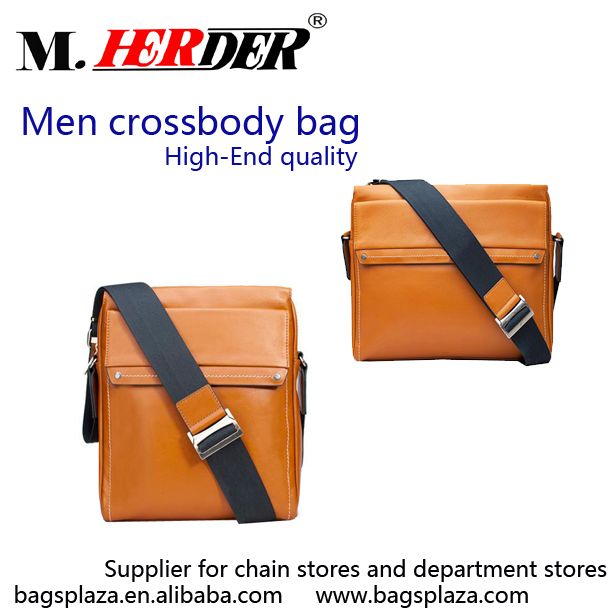 High end quality men s bag tablet PC crossbody bag for men