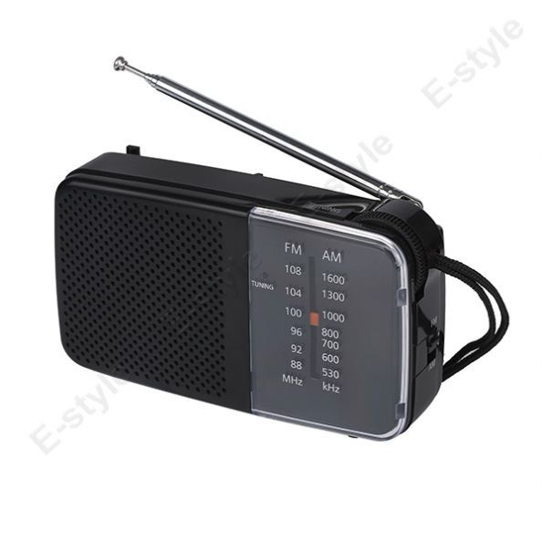 Cheapest am fm 2 band travel portable radio with clear sound quality
