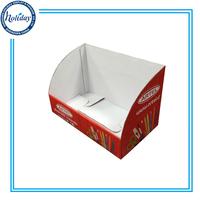 Cardboard Corrugated Counter Top Golf Ball Display Case