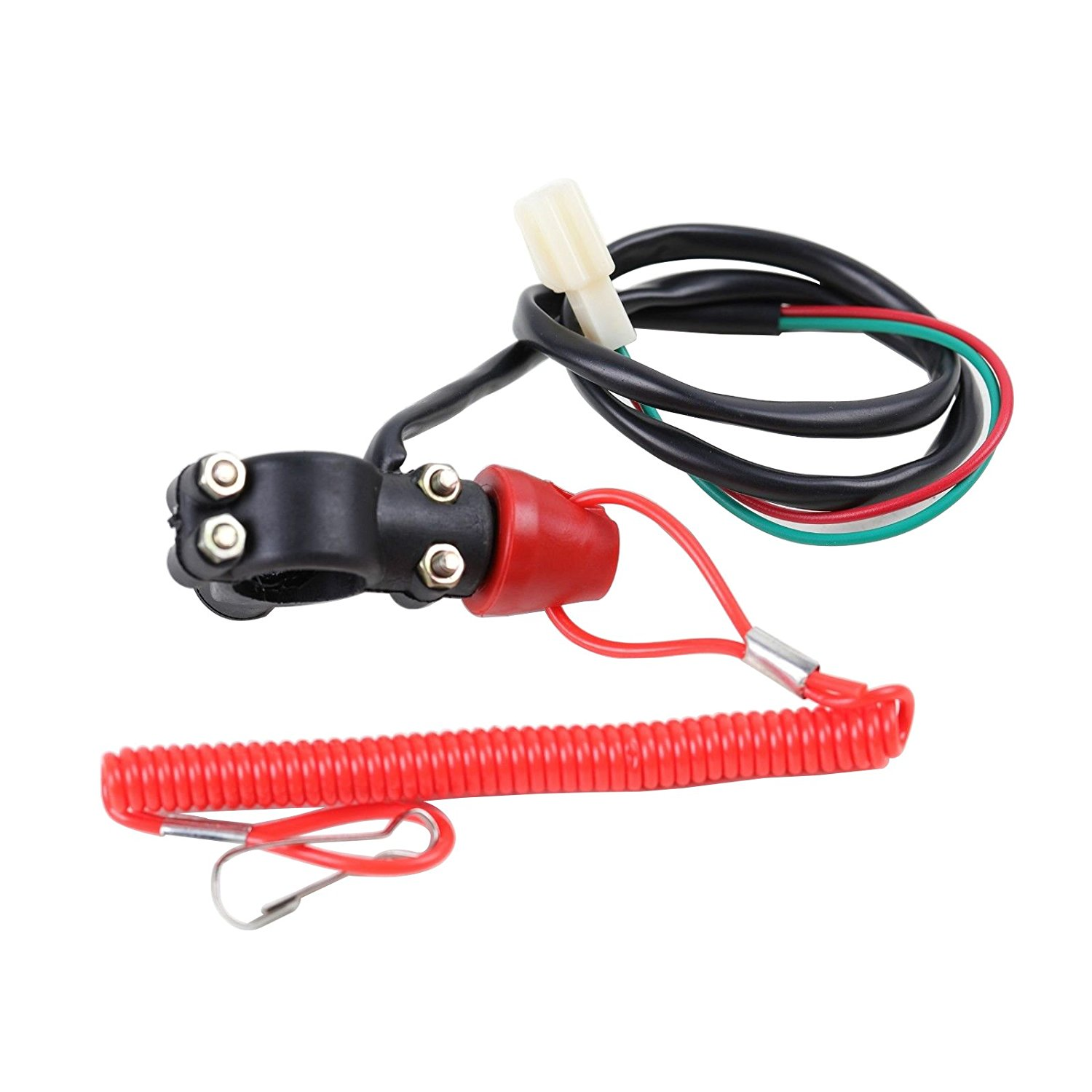 Cheap Tether Kill Switch Motorcycle Find How To Wire A On Atv Get Quotations Tdpro 7 8 With Line For Pit Dirt
