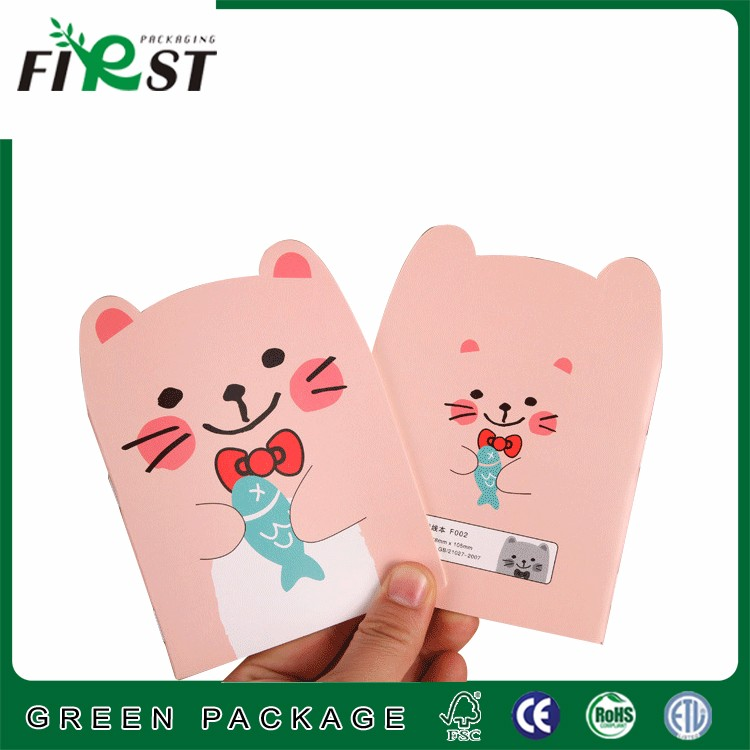 Creative stationery cute teddy bear book notepad/cartoon with the small animals notepad book