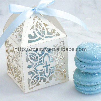 Baby Birth Souvenirs Baby Shower Decorations Birthday Return Gift Kids  Laser Cut Favor Box