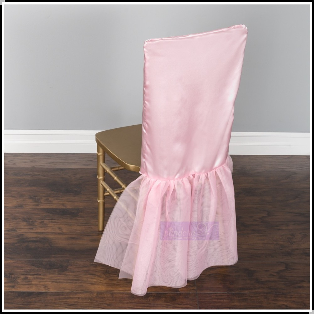 Ocs 802 2016 New Design Tutu Chair Cover High Back Chair Cover