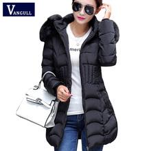 2016 Plus Size New Arrive Warm Down & Parkas Long Sleeve Button Zipper Long Style Outwear Thick Winter Jacket Women Coat