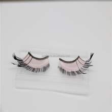 Hot Sale Fahion Style False Eyelashes Colored Faux Party Costume Eye Lashes