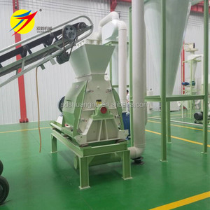 Corn maize crusher water drop hammer mill used soybean extruder for sale