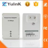 Industrial Powerline Ethernet Adapter 500m Wireless Homeplug