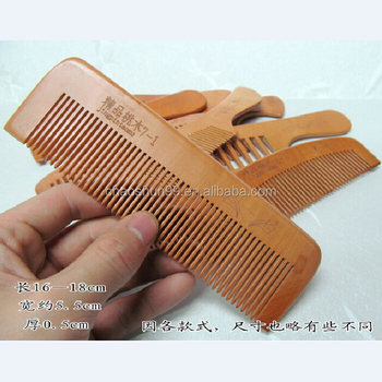 Natural Hair Comb Whole Keep Healthy Wooden