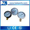 "Liquid Stainless steel, Radial direction 1/2"" 1/4"" 1/8"" threaded NPT thread Pressure meter pressure guage"