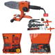 HDPE SOCKET FUSION WELDER KIT WITH ADAPTERS FOR GEOTHERMAL PIPE INSTALLATION