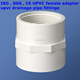 pvc female adapter , pvc coupling , factory price upvc pipe fittings