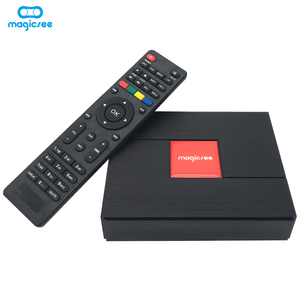 Magicsee C400 plus Hybrid tv box oct core amlogic s912chip 3+32gb support biss powervu 4k dvb combo receiver