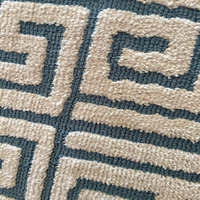 Top selling nice design Jacqard loop and cut rug from Shenzhen China supplier