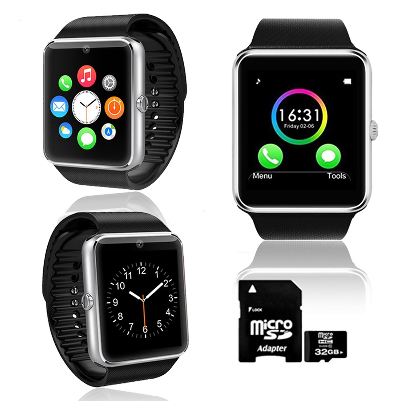 inDigi High-tech OLED Display Bluetooth Sync Smart Bracelet Caller ID Vibrate Ringtone Talk Handsfree (US Seller)