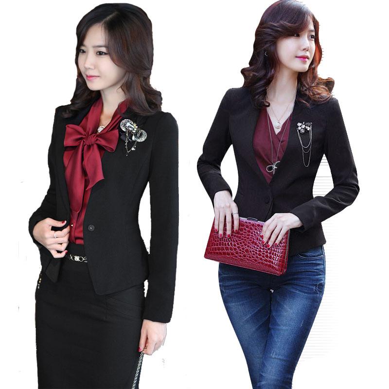 630e955bb8b Get Quotations · Hot Sale Elegant women skirt suits autumn ol office formal ladies  suits slim work wear plus