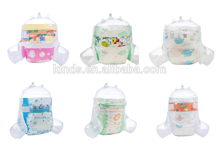 Wholesale Cheap Price OEM Thick Feel Free Baby Pull Up Baby Diapers in Bulk