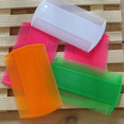 Colorful cheap plastic lice nit comb