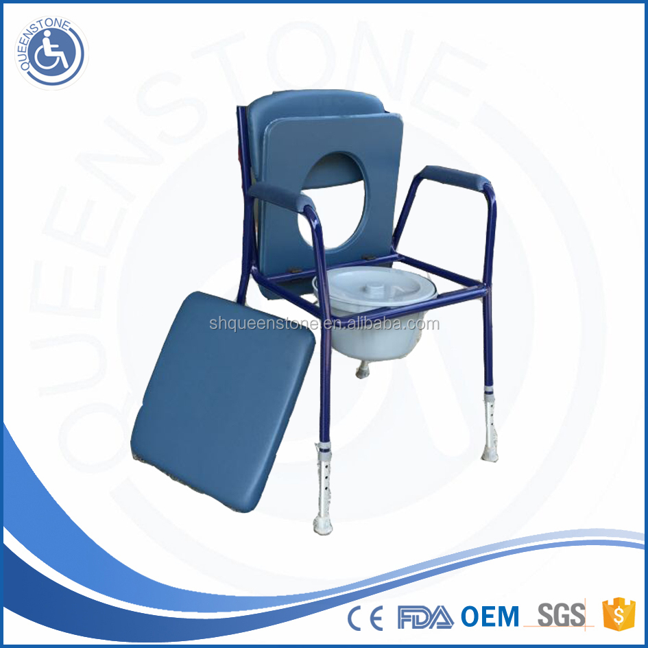 Walk Bath Chair Commode Chair For Elderly Commode Flowers - Buy ...