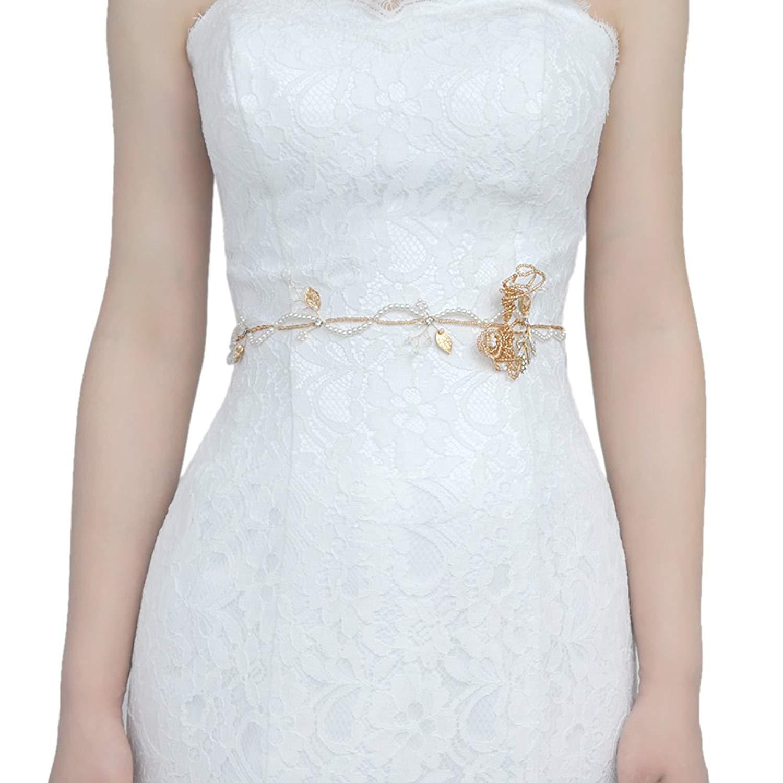 THK-Wedding Bridal Sash,Pearl sash belts,Wedding Belt,Bridal Belt,belts for women