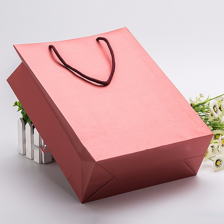 factory direct sale craft paper kraft shopping bag
