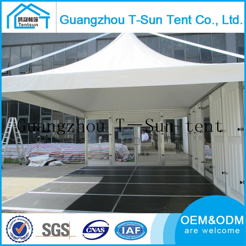 Guangzhou Luxus Aluminium Rahmen 4x4 Mt 5x5 Mt Garten Pavillon Zelt ...