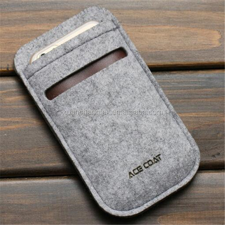 Best price non-woven fabric phone holder cover case for women/ladies/girls.kids bulk buy from China