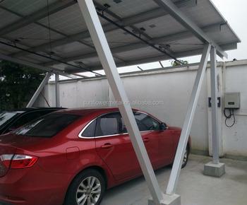 Aangepaste Concurrerende Prijs Solar Dakbedekking Aluminium Carport ...