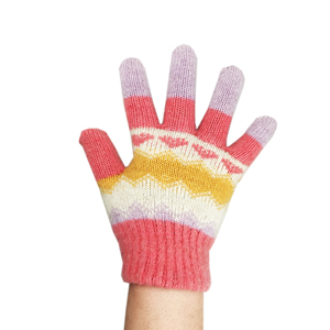 promotional organic cotton knitted gloves