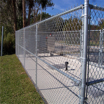 PVC coated 60*60mm chain link fence factory (Made in China)