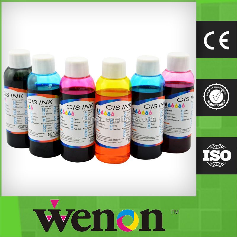 6 Color Edible Ink For Epson 1400 Inkjet Printer Food Ink - Buy ...