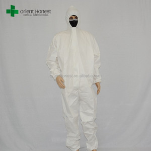 Chemical resistant coveralls industrial waterproof protective clothing