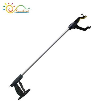 New Foldable Aluminum Alloy Litter Picker Grabber Gripper Reacher Help Hand Tool On Off Switchali88 In Sets From Tools Aliexpress Alibaba