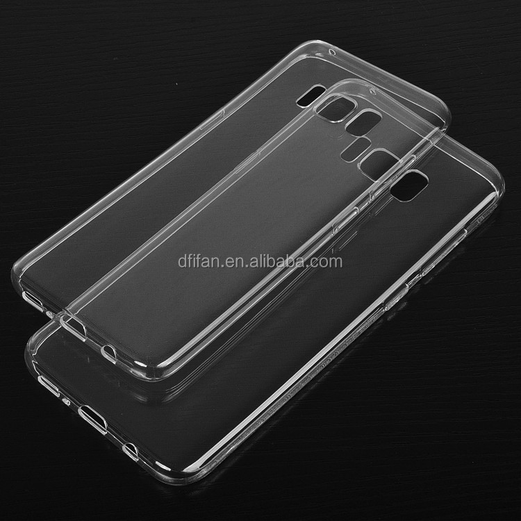 DFIFAN Cases Cover for mobile phone galaxy s8 tpu case, Clear Transparent Soft Silicon TPU Case for SAMSUNG S8 s8 plus